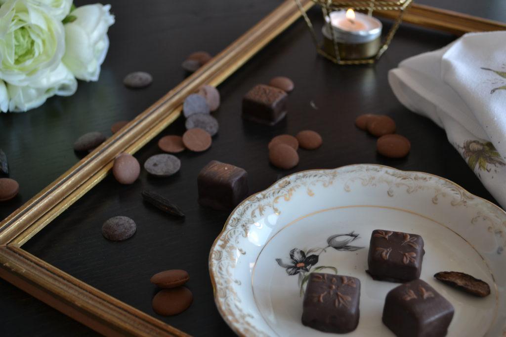 Bonbon chocolat Vanille Tonka